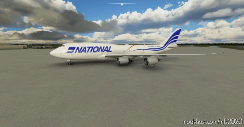 National AIR Cargo (White) for Microsoft Flight Simulator 2020