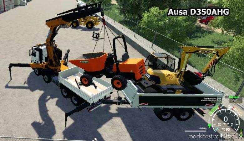 Ausa D350Ahg V0.1 for Farming Simulator 19