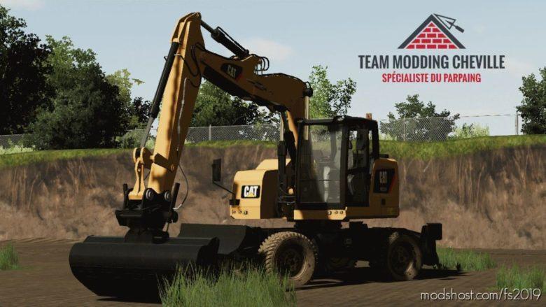 TMC Caterpillar M315F for Farming Simulator 19