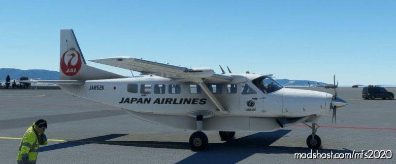 Cessna 208B Grand Caravan JAL [4K Fictional] for Microsoft Flight Simulator 2020