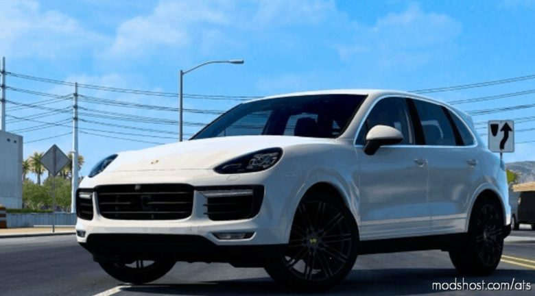Porsche Cayenne Turbo S 2016 V5.1 [1.40] for American Truck Simulator