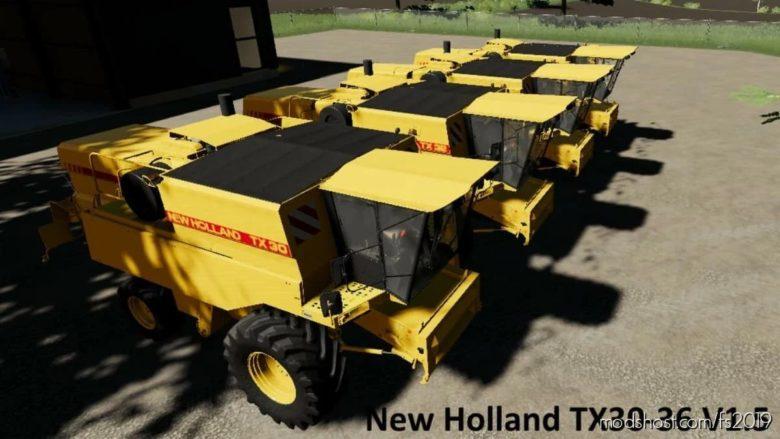 NEW Holland Update TX30-36 V1.5 for Farming Simulator 19