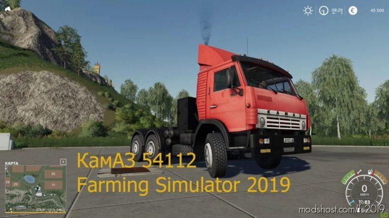 Kamaz 54112 for Farming Simulator 19
