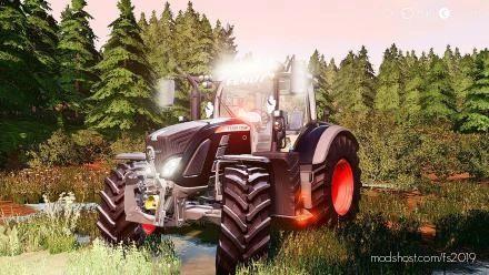 Fendt 700 Vario AV LL Edits for Farming Simulator 19