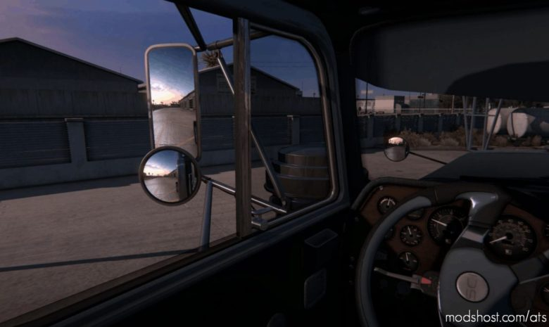 3D Interior Mod V1.4 [1.40] for American Truck Simulator