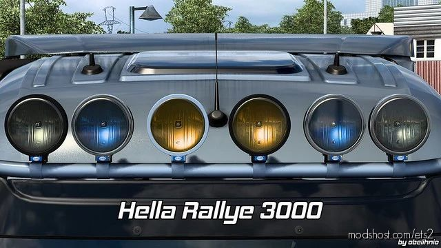 Hella Rallye 3000 V1.5 Fixed [1.40] for Euro Truck Simulator 2