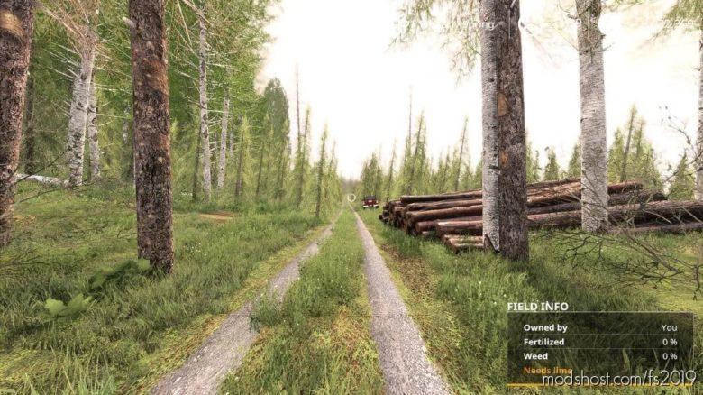 Forest Machine Map for Farming Simulator 19