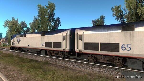 Improved Trains V3.7.2 [1.40] for American Truck Simulator