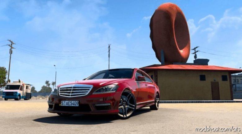 Mercedes-Benz S65 AMG W221 2012 V3 [1.40] for American Truck Simulator