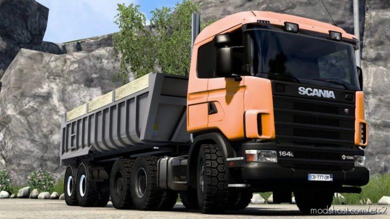 Scania 164L V8 Stock Sound [1.40] for Euro Truck Simulator 2