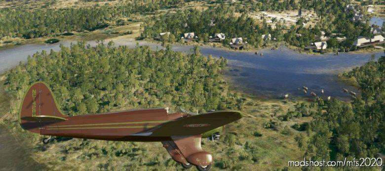 Gas-Kinner-B-2-Sportwing Kenya 5Y-Kyu for Microsoft Flight Simulator 2020