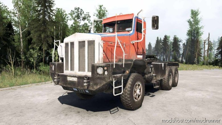 Boar-45318 (Tonar-7502) V1.3 for MudRunner