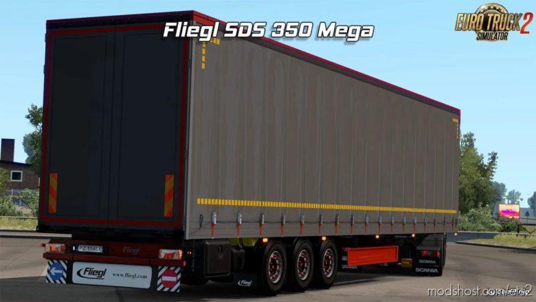 Fliegl SDS350 Mega – Rework [1.40.X] for Euro Truck Simulator 2