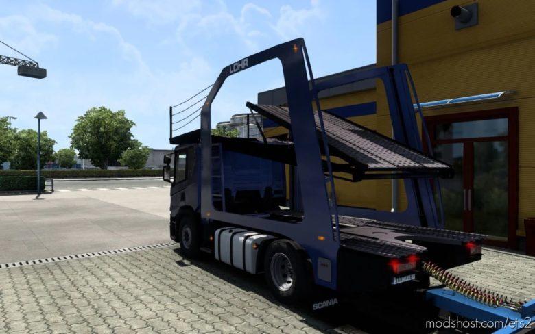 Nextgen Scania P (Eugene) CAR Transport [1.40.1] for Euro Truck Simulator 2
