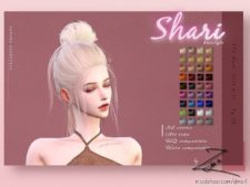 Shari Hairstyle for The Sims 4