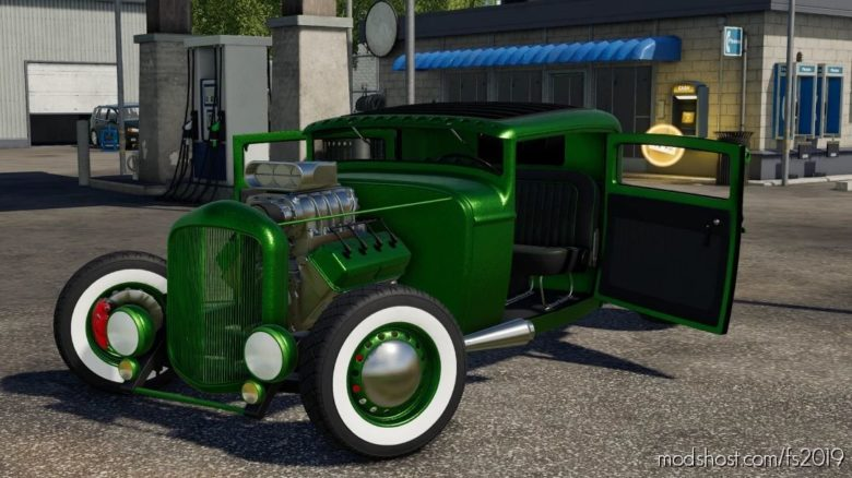 Hotrod Coupe for Farming Simulator 19