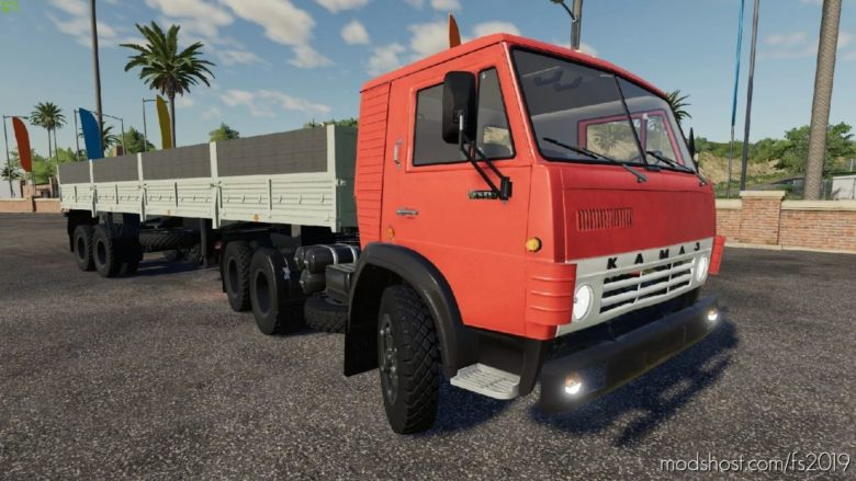 Kamaz Osnova Pack for Farming Simulator 19
