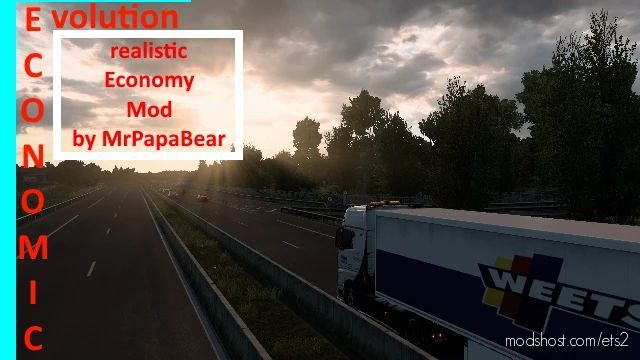 Economy Evolution [1.40] for Euro Truck Simulator 2
