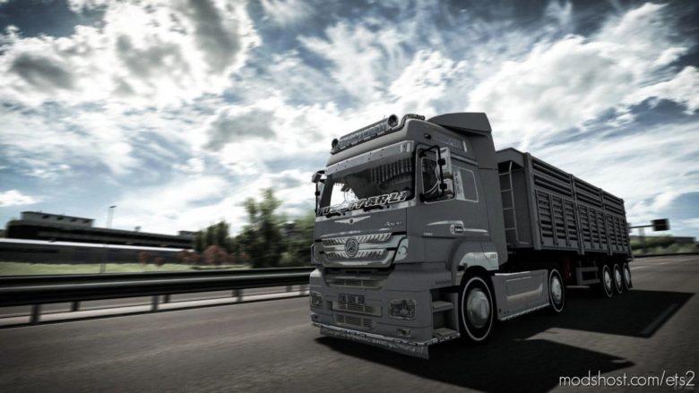 Mercedes Axor 1840 EVR Sound [1.40] for Euro Truck Simulator 2