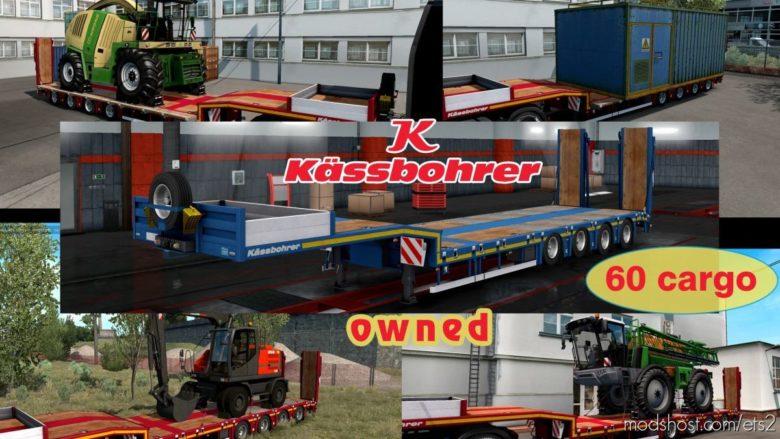 Ownable Overweight Trailer Kassbohrer LB4E V1.1.6 for Euro Truck Simulator 2