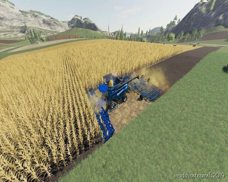 NEW Holland CR1090 Maxi 2IN1 V1.1 for Farming Simulator 19