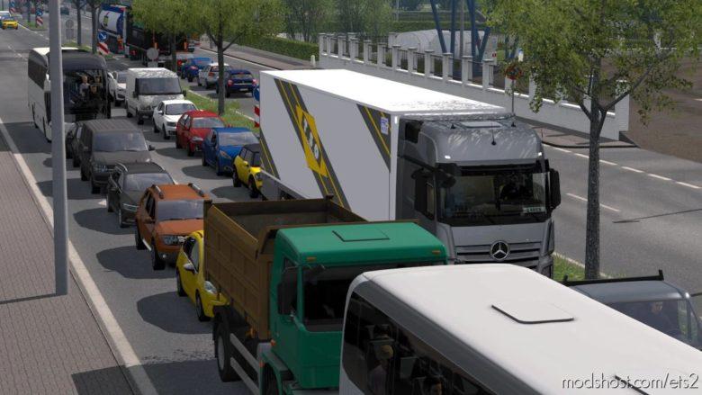 Brutal Traffic V1.3 [1.40] for Euro Truck Simulator 2