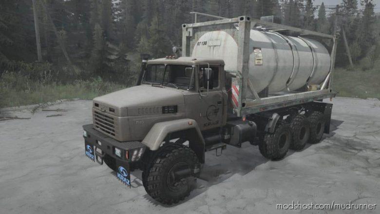 Kraz-7140H6 Truck V15.04.21 for MudRunner