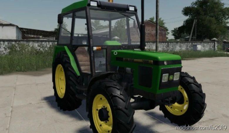 Zetor John Deere 2400 for Farming Simulator 19