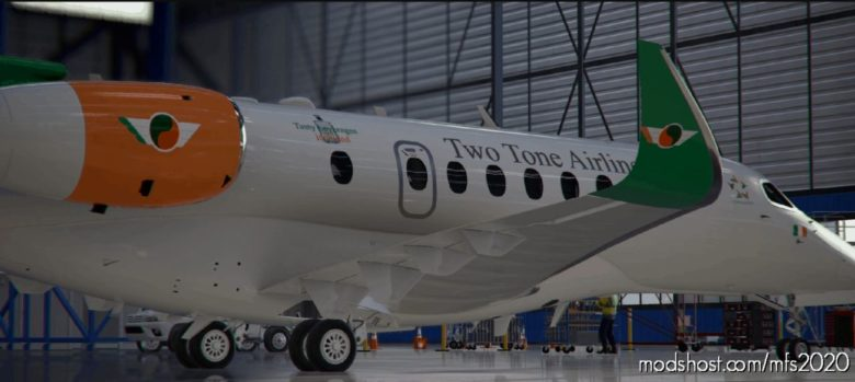 Cessna Citation Longitude – TWO Tone Airlines for Microsoft Flight Simulator 2020