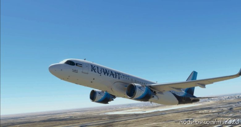 [A32NX] FBW A320 NEO Kuwait Airways for Microsoft Flight Simulator 2020