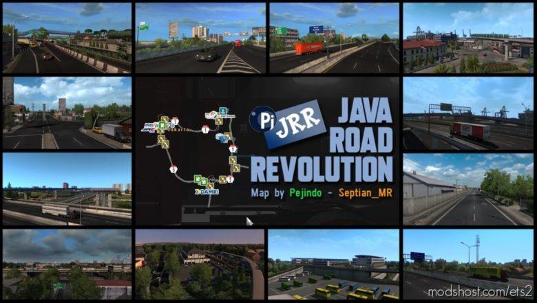 JRR – Indonesia Map V0.2 [1.38 – 1.40] for Euro Truck Simulator 2