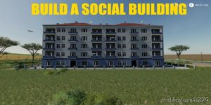 Build A Social Building 02 for Farming Simulator 19