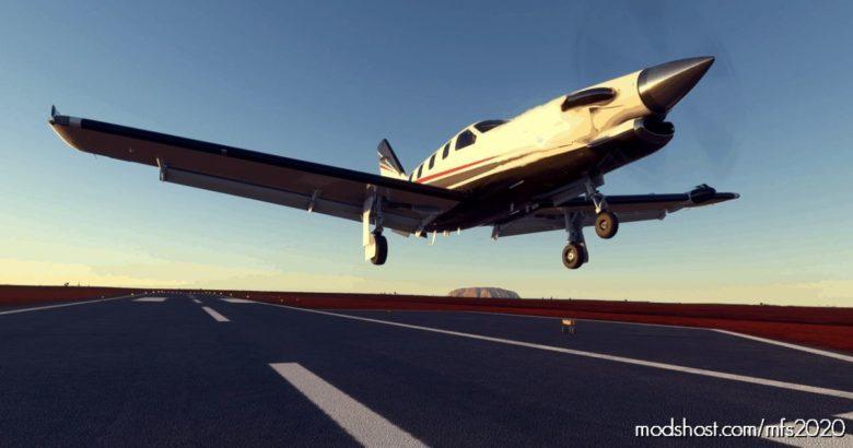 [Flight Plan] Exploring Australian – From Alice Springs To Ayres Rock for Microsoft Flight Simulator 2020