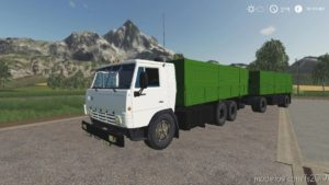 Kamaz 53212 Szap 8357 for Farming Simulator 19