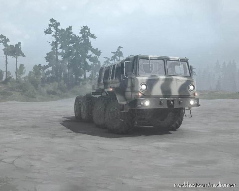 Zikz-605R (MAZ-537) Truck for MudRunner