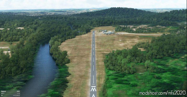 Pepperell Airport (26MA), Pepperell, MA & C208 Livery N950TT for Microsoft Flight Simulator 2020