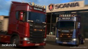 50Keda Addon [1.40] for Euro Truck Simulator 2