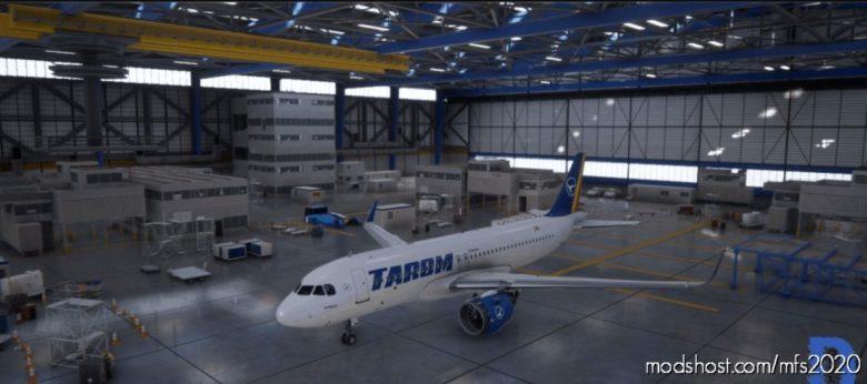[A32NX] Tarom Romania By Dorel for Microsoft Flight Simulator 2020
