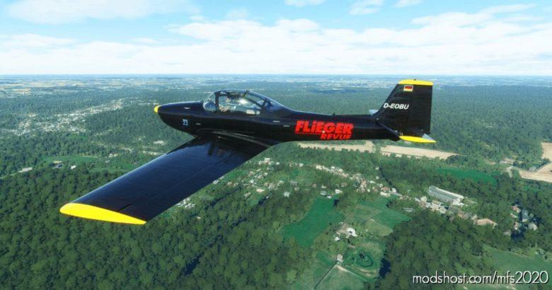 Piaggio P.149 D-Eobu for Microsoft Flight Simulator 2020