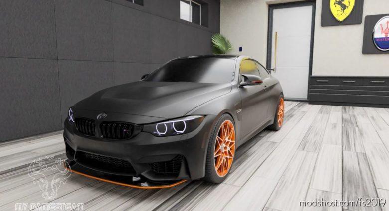 BMW M4 GTS 2016 for Farming Simulator 19