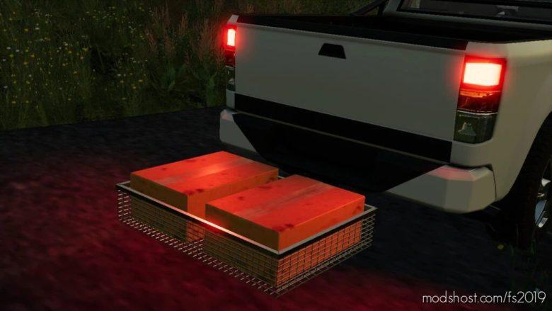 Lizard Transport Basket for Farming Simulator 19