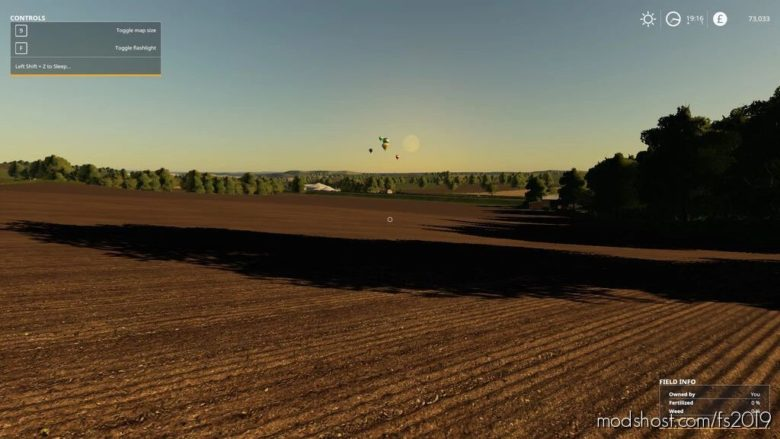 Sleep Anywhere for Farming Simulator 19