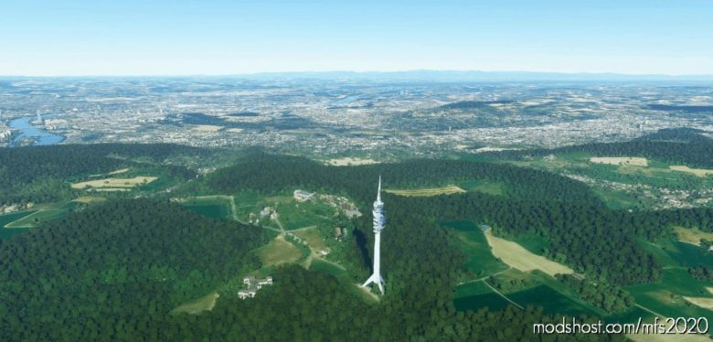 ST. Chrischona Tower Basel, Switzerland V1.1 for Microsoft Flight Simulator 2020