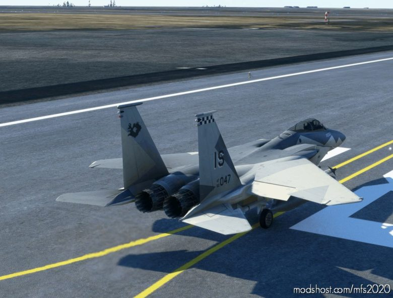 F-15C Ferris Scheme 57 FIS (Kevlavik, Iceland) What IF for Microsoft Flight Simulator 2020