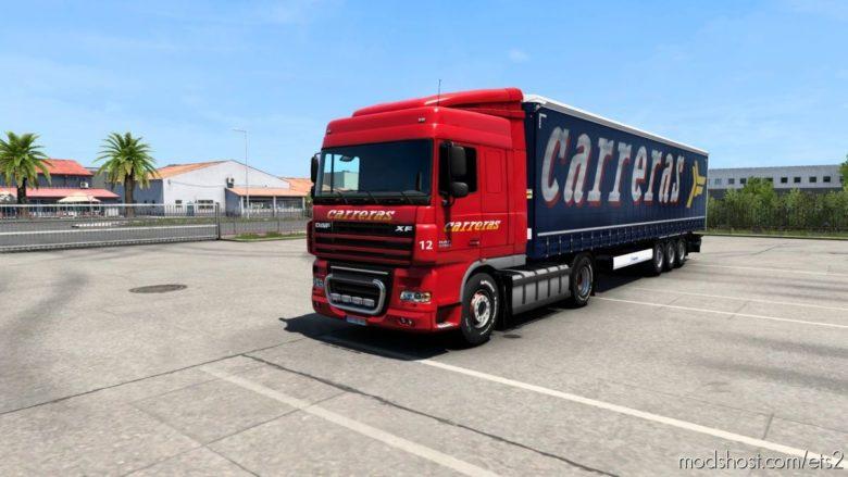 Combo Skin Grupo Carreras for Euro Truck Simulator 2