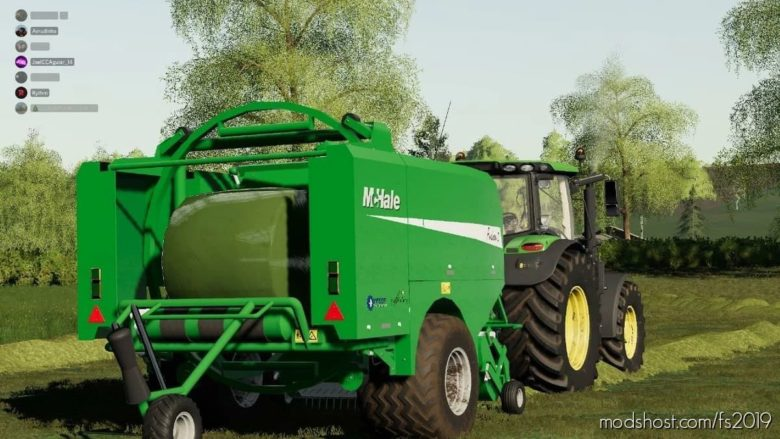 Mchale Fusion 2 for Farming Simulator 19