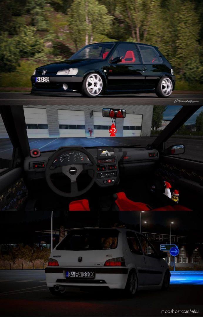 Peugeot 106 GTI + Varex Sound [1.40] for Euro Truck Simulator 2