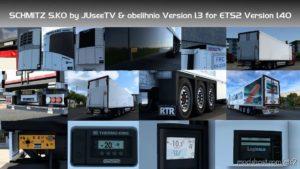 Schmitz SK.O By Obelihnio V1.3 [1.40] for Euro Truck Simulator 2