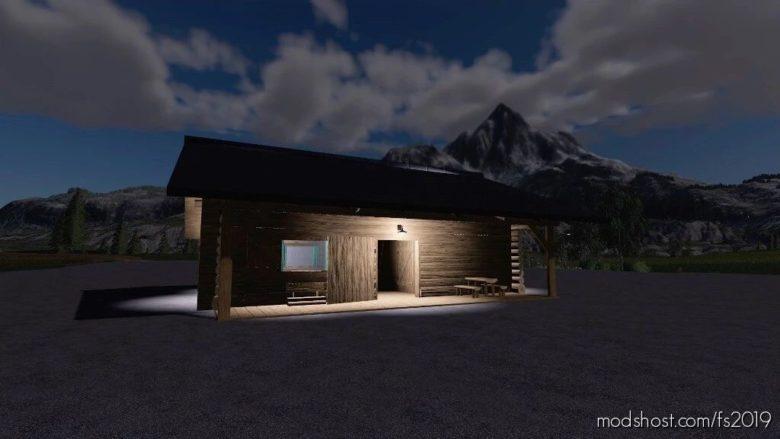 LOG Cabin Farmers House for Farming Simulator 19