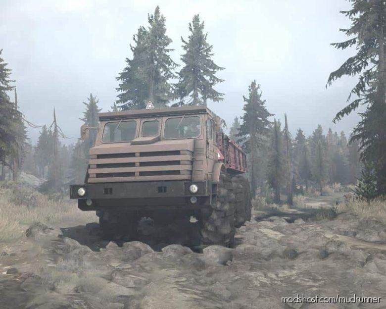 Moaz-74111 Truck for MudRunner
